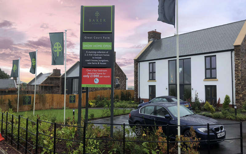 Enigma Signage: Property & New Homes